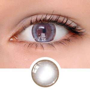 Natural Grey Colored Contact Lenses