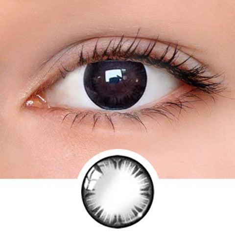 Natural Touch Black Colored Contact Lenses