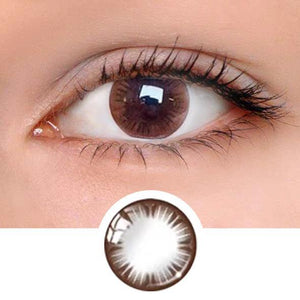 Natural Touch Brown Colored Contact Lenses