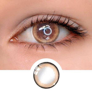 Oxygen Brown Colored Contact Lenses