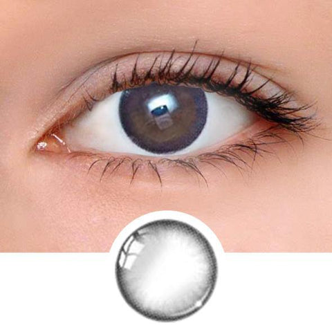 Pastel Black Colored Contact Lenses