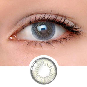 Pearl Stars Brown Colored Contact Lenses