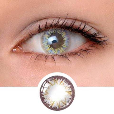Perfume lily Grey Colored Contact Lenses