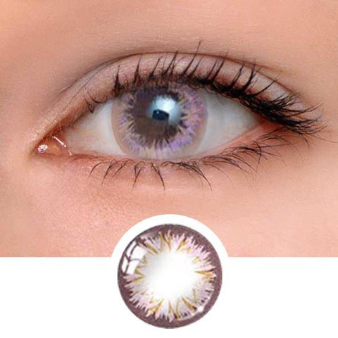 Perfume lily Pink Colored Contact Lenses