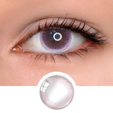 Pinky Ring Colored Contact Lenses