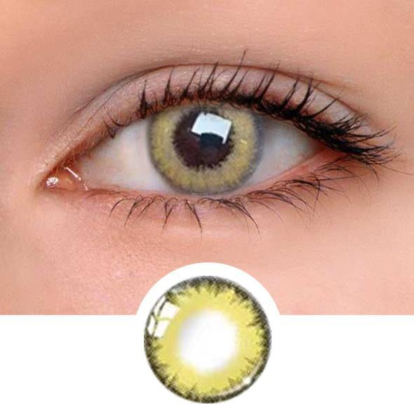 PRO Khaki Colored Contact Lenses