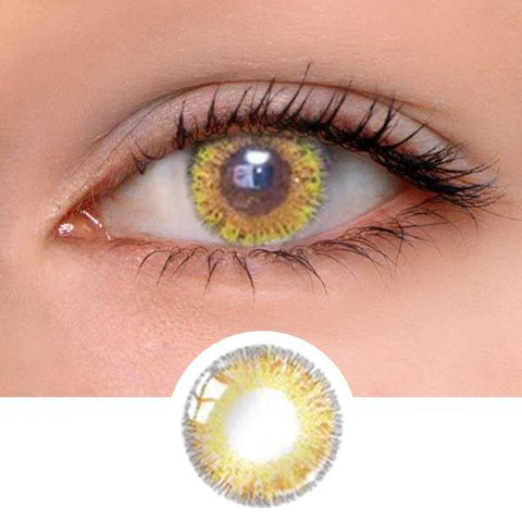 Queen Brown Colored Contact Lenses