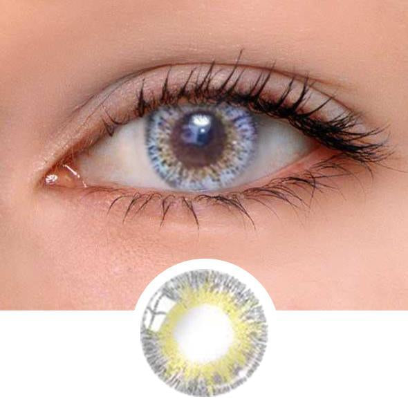 Queen Grey Colored Contact Lenses