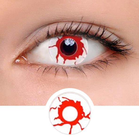 Reddish Dream Colored Contact Lenses