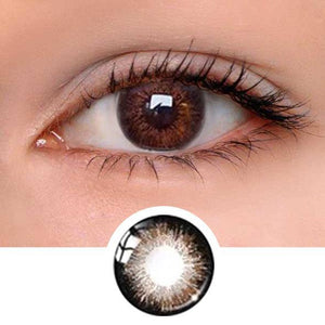 Rum Chocolate brown Colored Contact Lenses