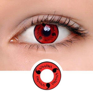 Sharingan Magatama Colored Contact Lenses