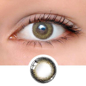 Shell Brown Colored Contact Lenses