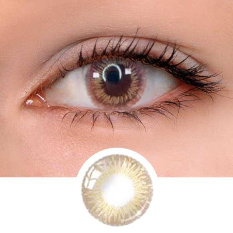 Sophia Brown Colored Contact Lenses