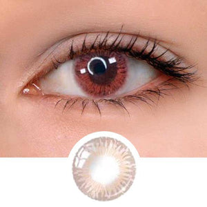 Sophia Pink Colored Contact Lenses