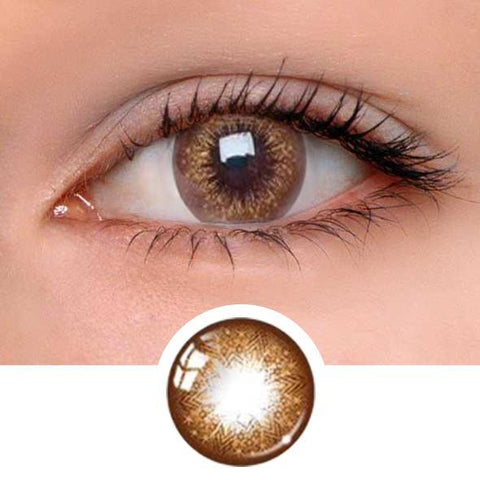 Star Barbie Brown Colored Contact Lenses