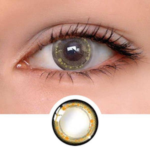 Star Barbie Golden Brown Colored Contact Lenses