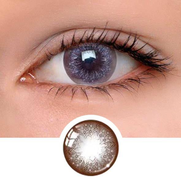 Star Barbie Grey Colored Contact Lenses