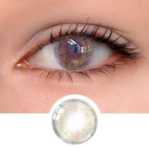 Velvet Brown Colored Contact Lenses