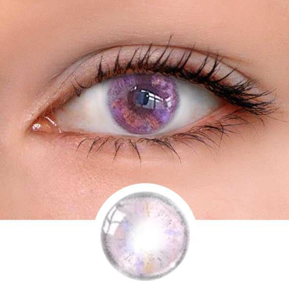 Velvet Pink Colored Contact Lenses