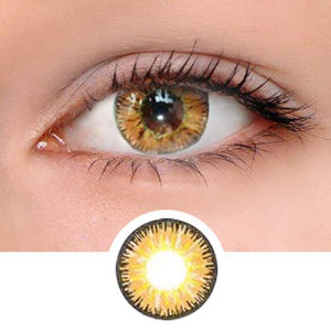 Vicka Brown Colored Contact Lenses