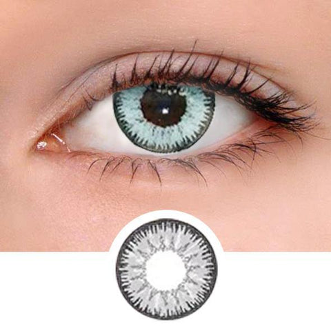 Vicka Grey Colored Contact Lenses