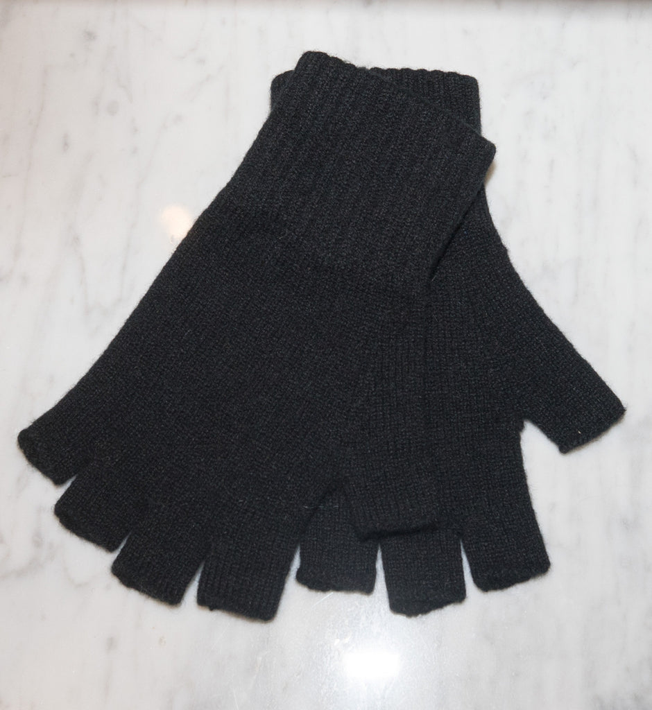 GLOVE Fingerless black