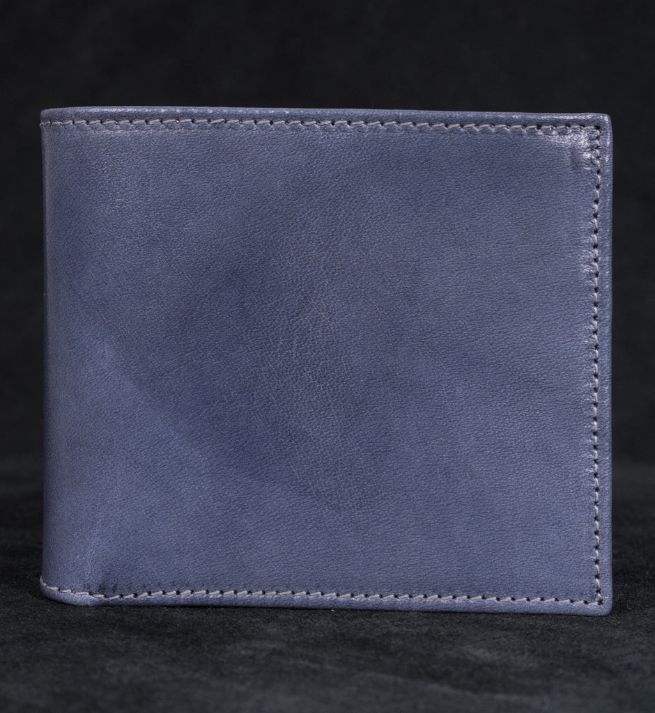 ACC Bi-fold 2-Color Wallet Grey/ Bright Blue