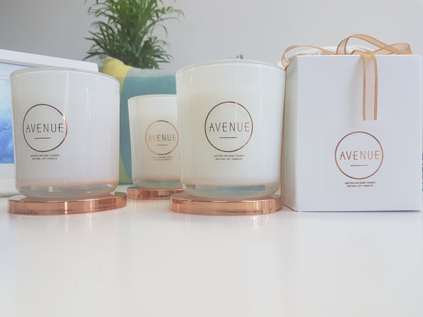 Avenue Originals Candle - Zesty Ginger & Green Tea