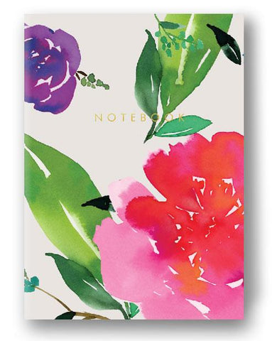 Harvest Collection - Notebook - Magenta Florals Notebook