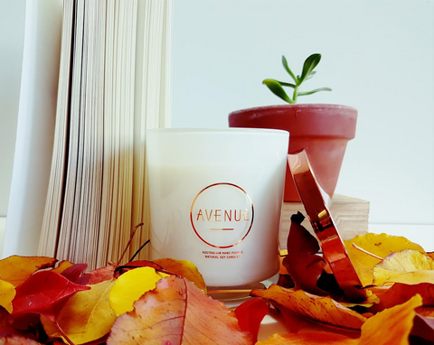 Avenue Originals Candle-Rustic Amber