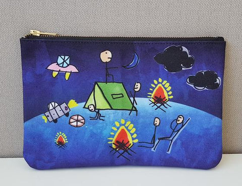 Harvest Collection - Clutch Bag - Magical Camping Night