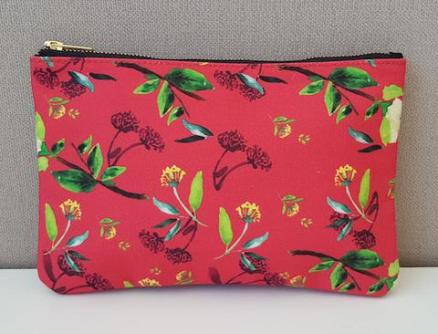 Harvest Collection - Clutch Bag - Oriental Red Floral