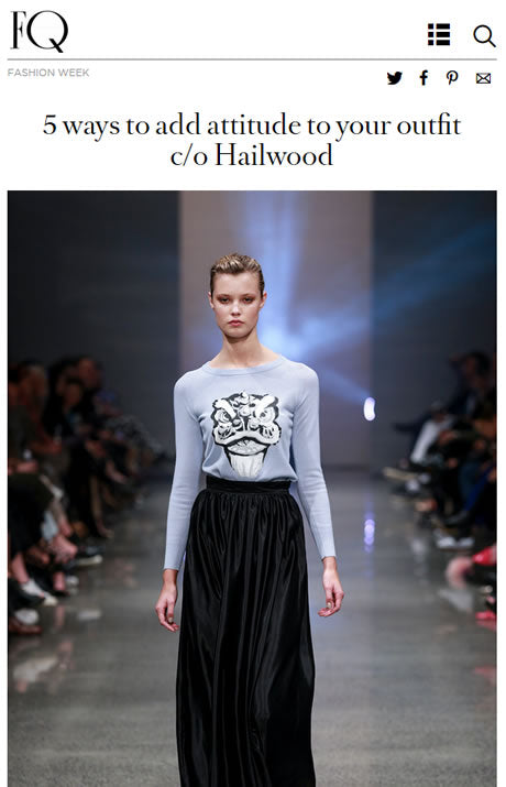 Click here to view the FQ article from Fashion Week 2015