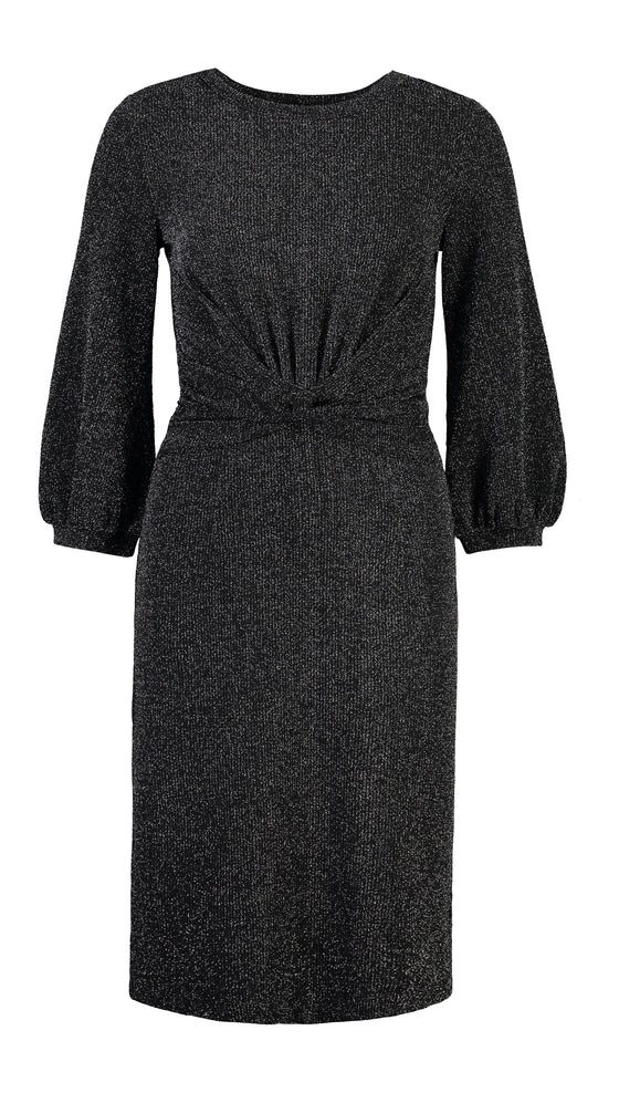 Holly Lurex dress in Black