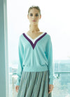 Helena Lambs Wool & Cashmere Jumper Mint