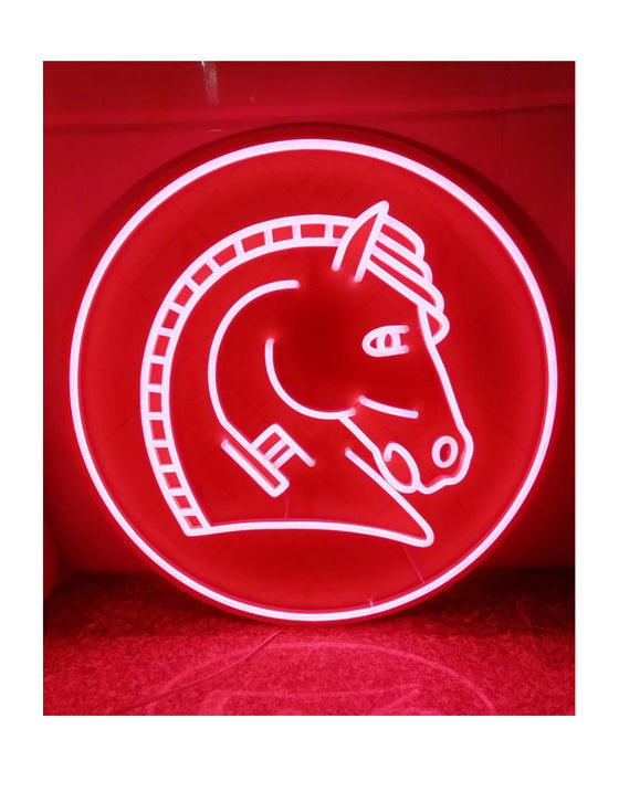 Hailwood Neon Horse (650mm)