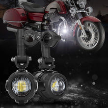 Load image into Gallery viewer, 40W LED Auxiliary Lamp Fog Driving Light Kits For Motorcycle