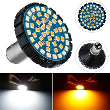 Load image into Gallery viewer, 2pcs 1157 Front or Rear Turn Signal LED Bulb Running Light Insert Kit For Motorcycles
