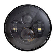 Load image into Gallery viewer, Black/Chrome 7 inch LED Headlight For Touring Ultra Classic Motorcycle