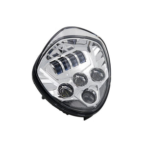 Chrome 60W Motorcycle LED Headlight For Victory Cross Country