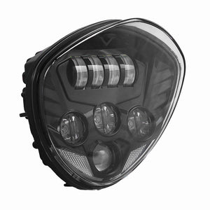 Black LED Headlight For Motorcycle Victory Cross Road Country Cruisers 20102016