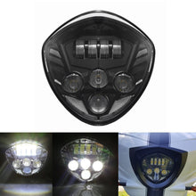 Load image into Gallery viewer, Black LED Headlight For Motorcycle Victory Cross Road Country Cruisers 20102016