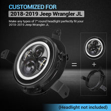 Load image into Gallery viewer, Headlight Mounting Bracket for Jeep Wrangler JL Gladiator JT