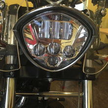 Load image into Gallery viewer, 50W CREE LED Motorcycle Headlight Assembly For Victory Cross-Country / Vegas