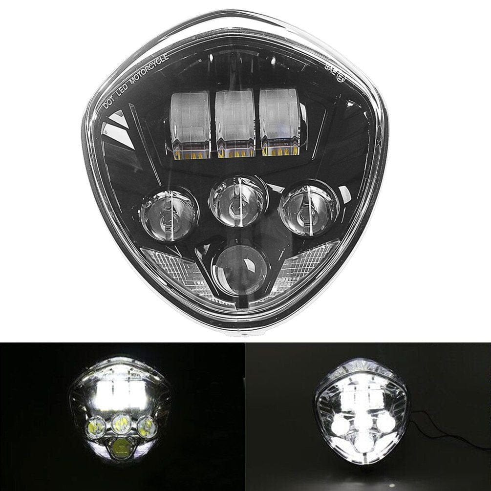 50W CREE LED Motorcycle Headlight Assembly For Victory Cross-Country / Vegas