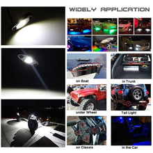 Load image into Gallery viewer, LED Rock Light White 6PCS