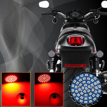 Load image into Gallery viewer, Red LED Turn Signals & Brake Light with 1157 Insert Kit for Harley Davidson