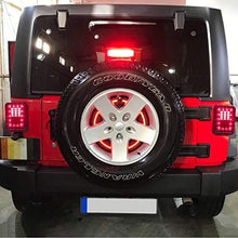 Load image into Gallery viewer, Third Brake Light+Spare Tire Brake Light for Jeep Wrangler JK 2007 - 2017