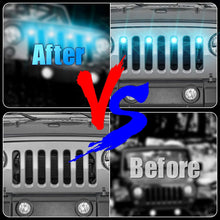 Load image into Gallery viewer, SUPAREE RGB Neon LED Front Grille Light fit for 2007-2017 Wrangler JK JKU 2018+ JL JKU