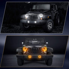 Load image into Gallery viewer, SUPAREE LED Headlight & Fog Light Set for Popular Wranglers 1987-2018